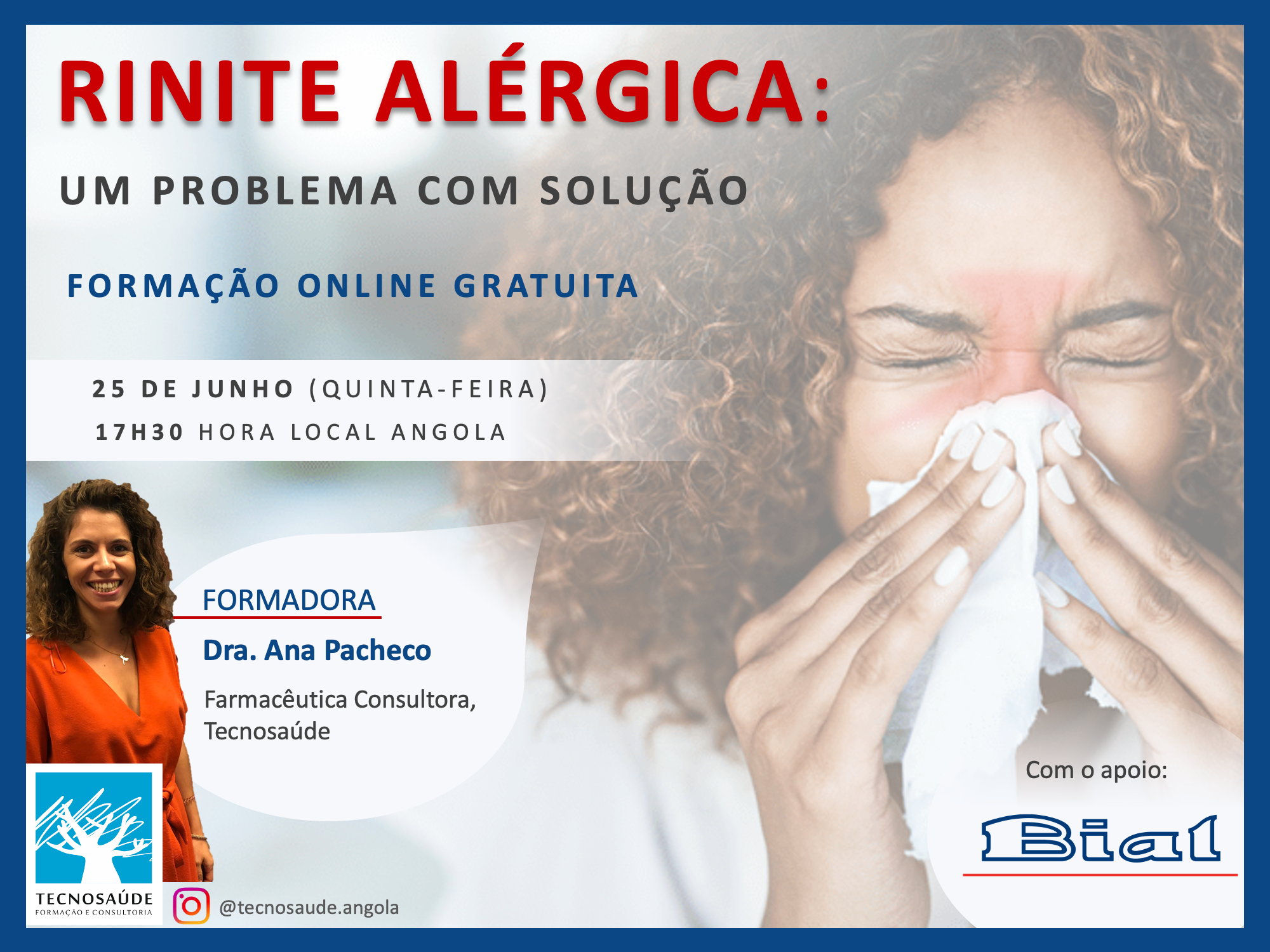 Online Training | Allergic Rhinitis: A Problem With Solution